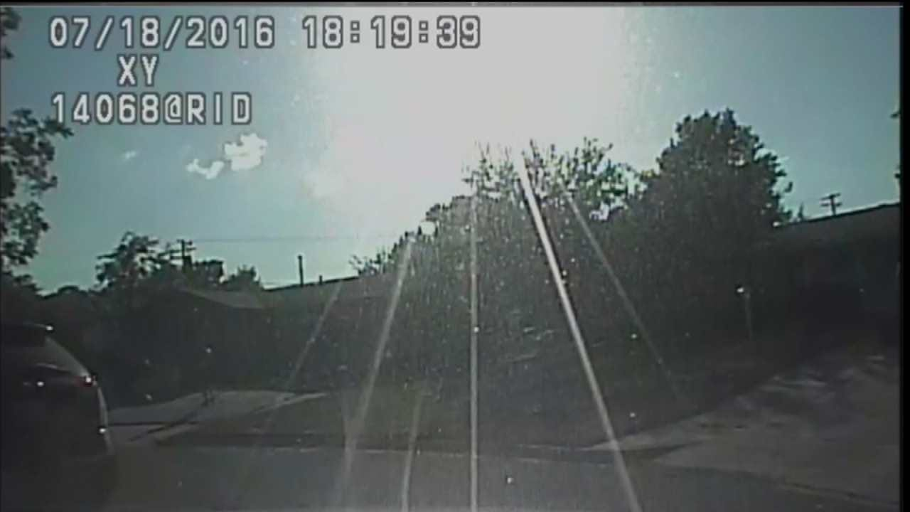 Dashcam Video Of Tulsa Police Shooting Man With Axe Released