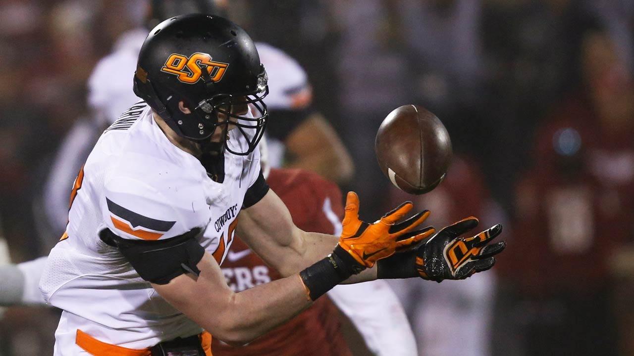 OSU Football: Jason McEndoo Talks Wednesday's Practice, Versatility Of Cowboy Backs