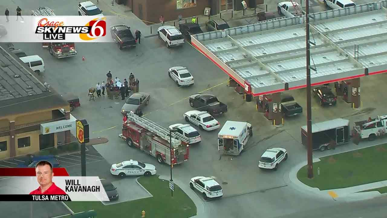 Police Investigating After Shooting Victim Dies Outside Tulsa QuikTrip