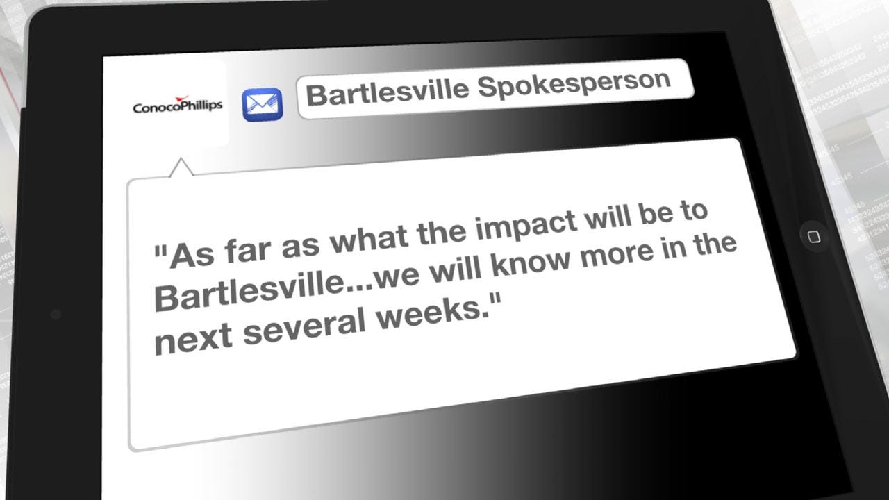 Bartlesville Could Feel Impact Of ConocoPhillips' Layoffs