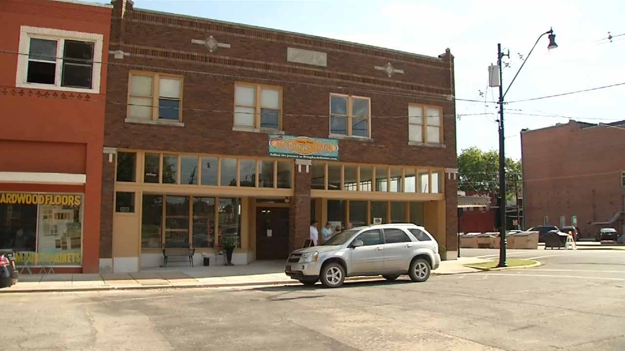 Husband, Wife, Take Steps To Bring New Life To Old Okmulgee Building