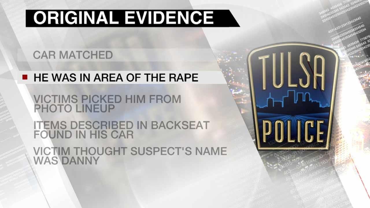 DA Won't Charge A Sapulpa Man With Tulsa Rapes