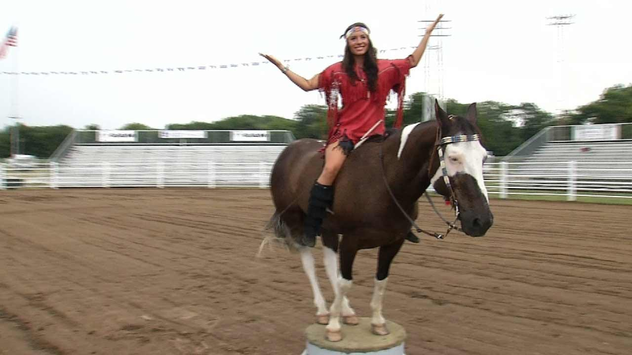 Oklahoma Trick Rider Hopes To Breathe Life In 'Dying Art'