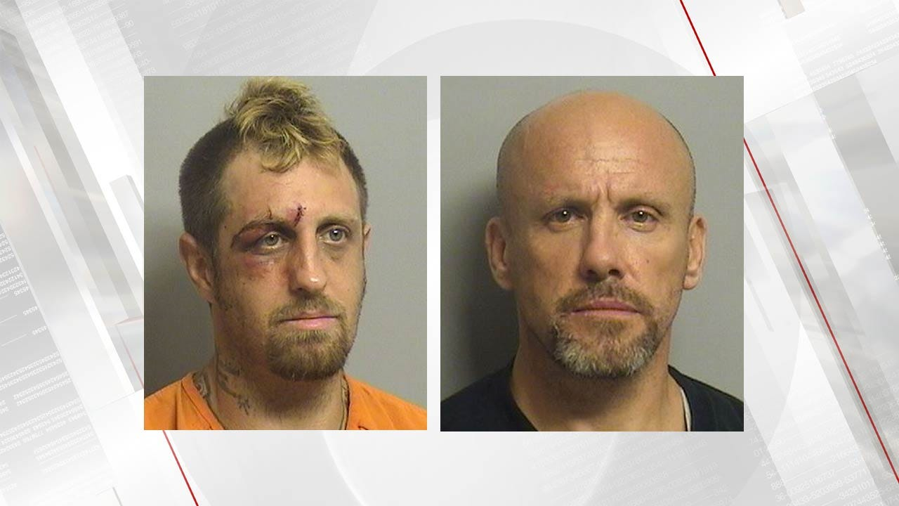 Police: Woman Awaken By Pair Burglarizing Her Tulsa Home