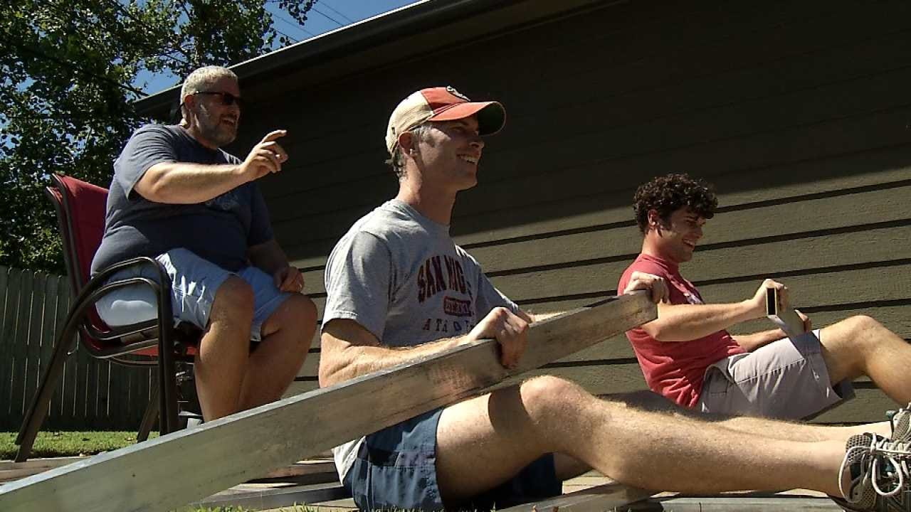 Local Family Begins Preparation For Tulsa's Great Raft Race