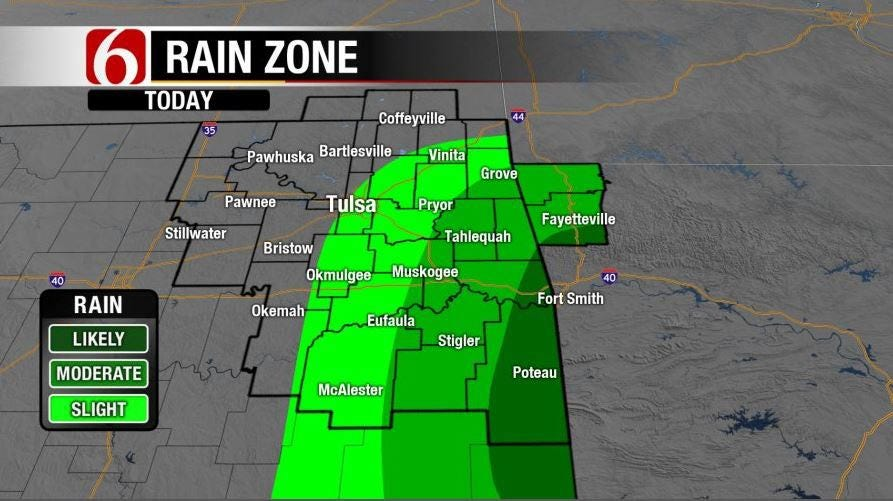 Cool Down Leaves Nice Weather Pattern For NE Oklahoma