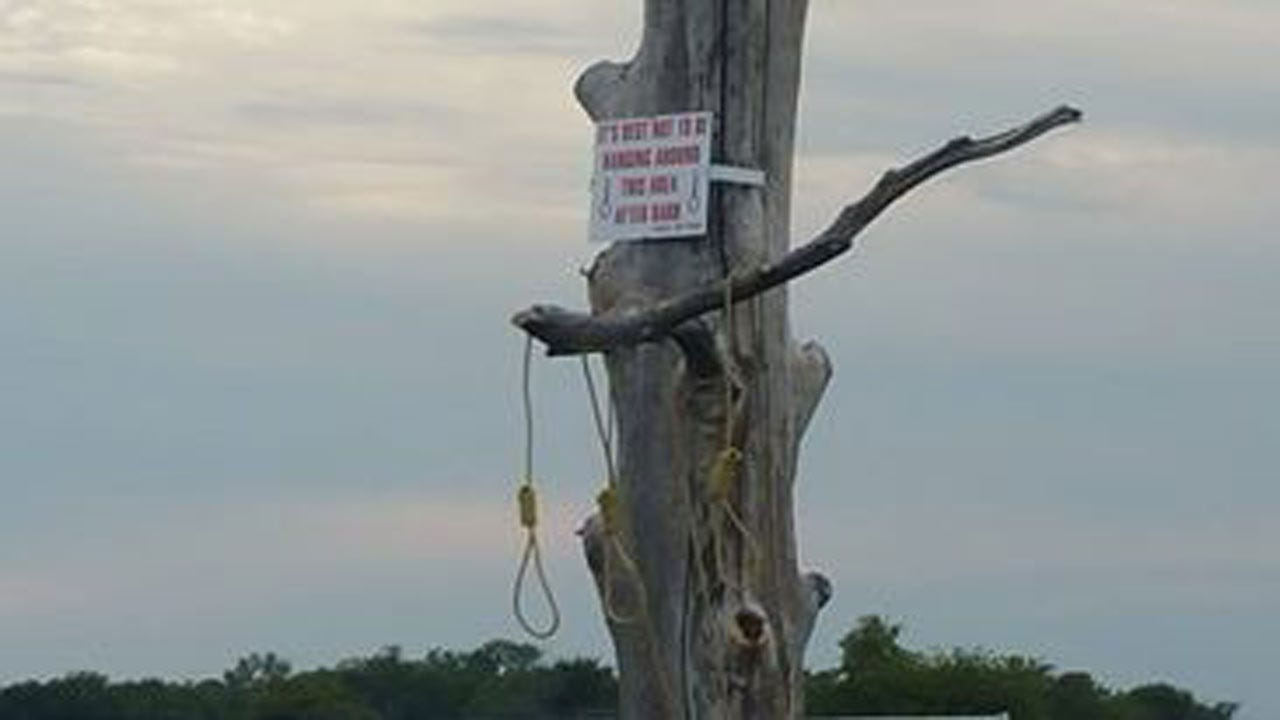 Homeowner Removes Nooses, Warning Sign In Okmulgee County