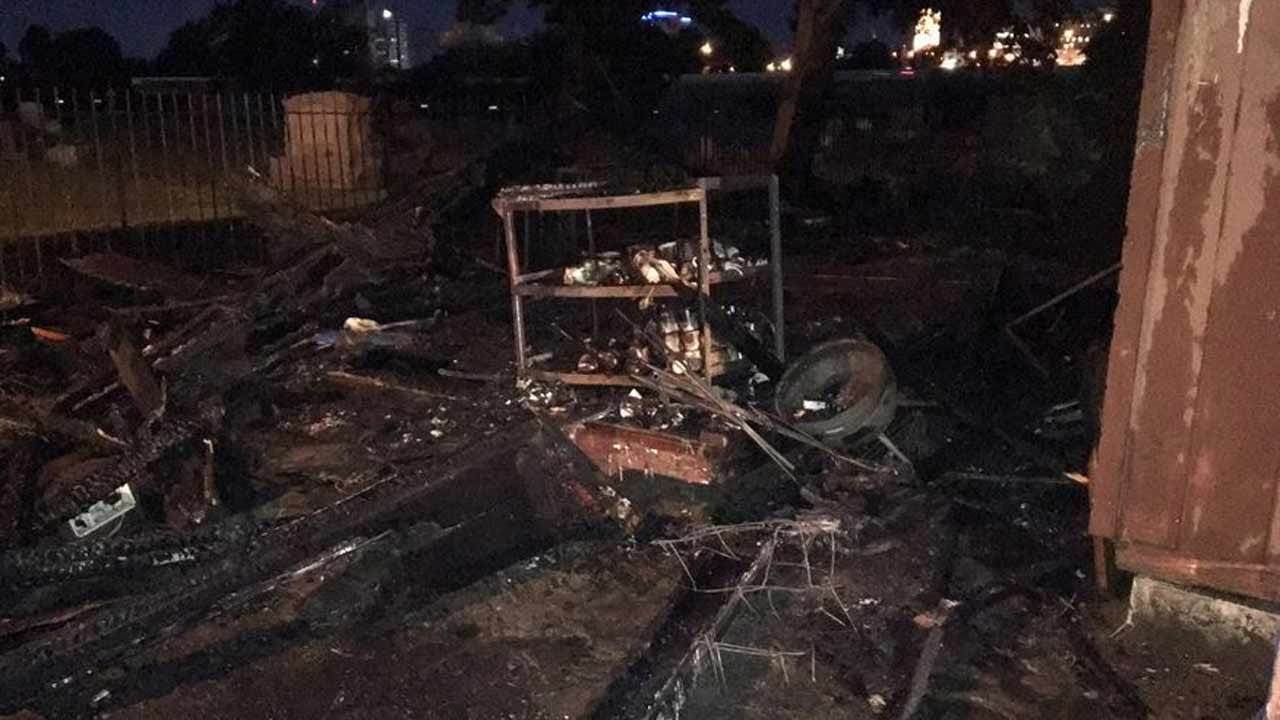 Hundreds Of American Flags Destroyed In Tulsa Fire