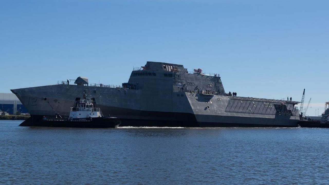 Construction Of USS Tulsa Approaches Milestone