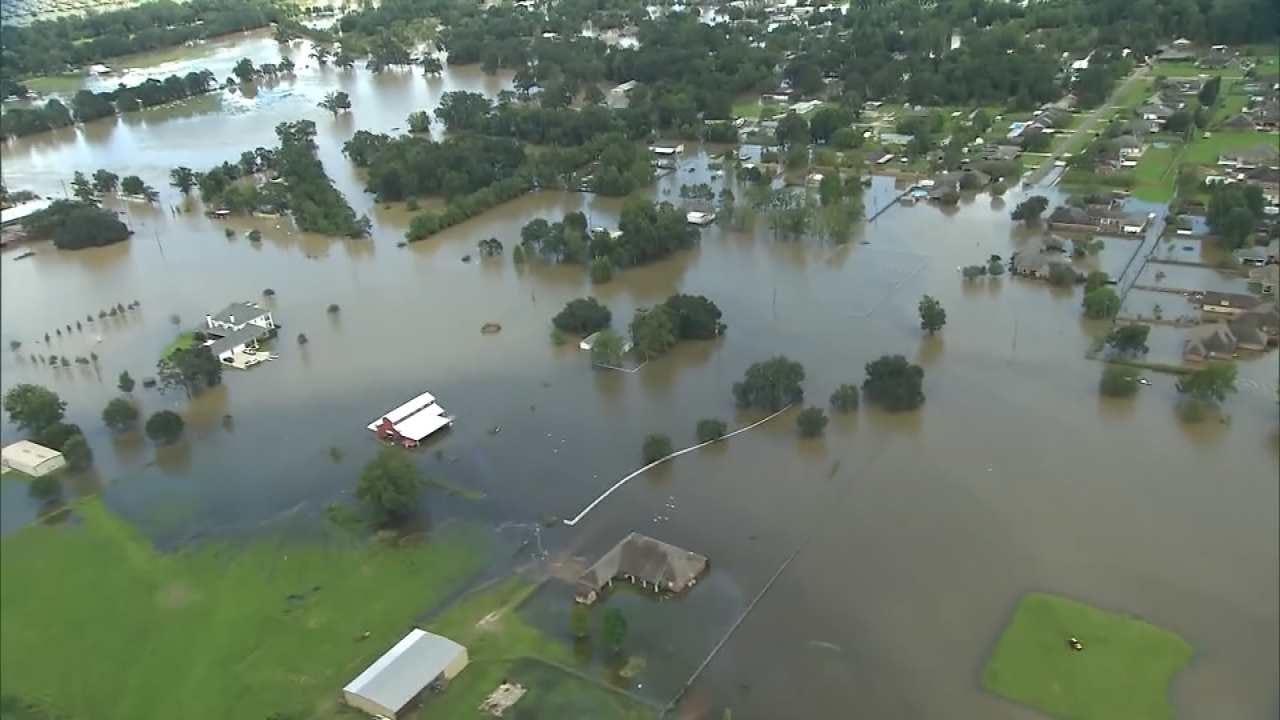 Historic Louisiana Flooding May Get Even Worse