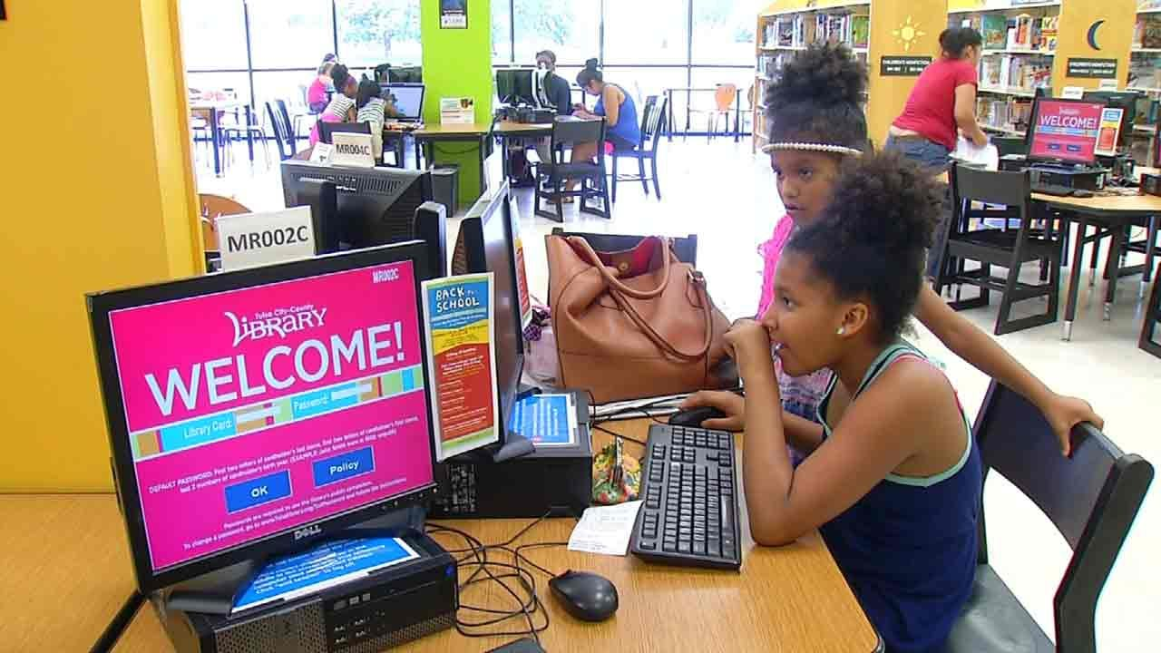 Tulsa Library Offering Homework Help To Students