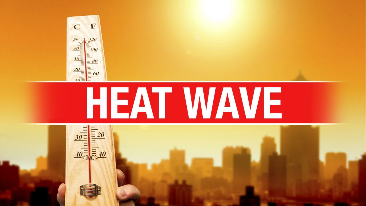EMSA Issues Medical Heat Alert After Treating 5 For Heat-Related Symptoms