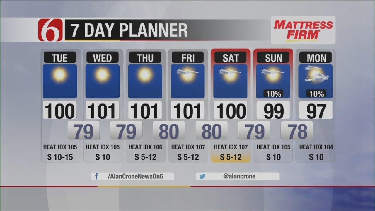 The Heat Is On In Northeast Oklahoma
