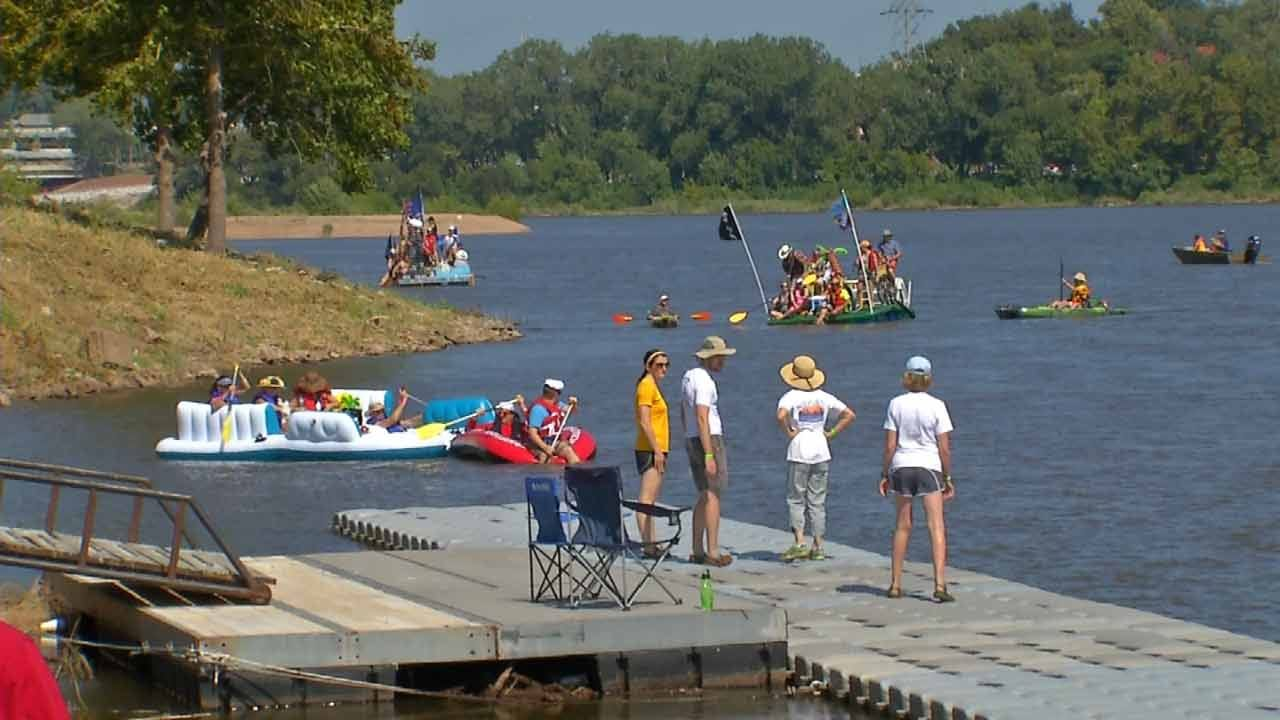Tulsa's Great Raft Race Organizers Urging Early Registration