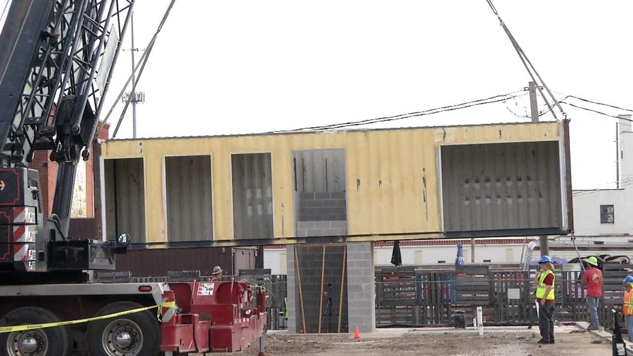 Downtown Tulsa's Boxyard Development Taking Shape