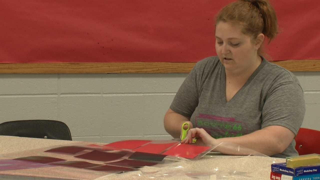 Tulsa Teacher Prepares For New School Year, Crowded Classrooms
