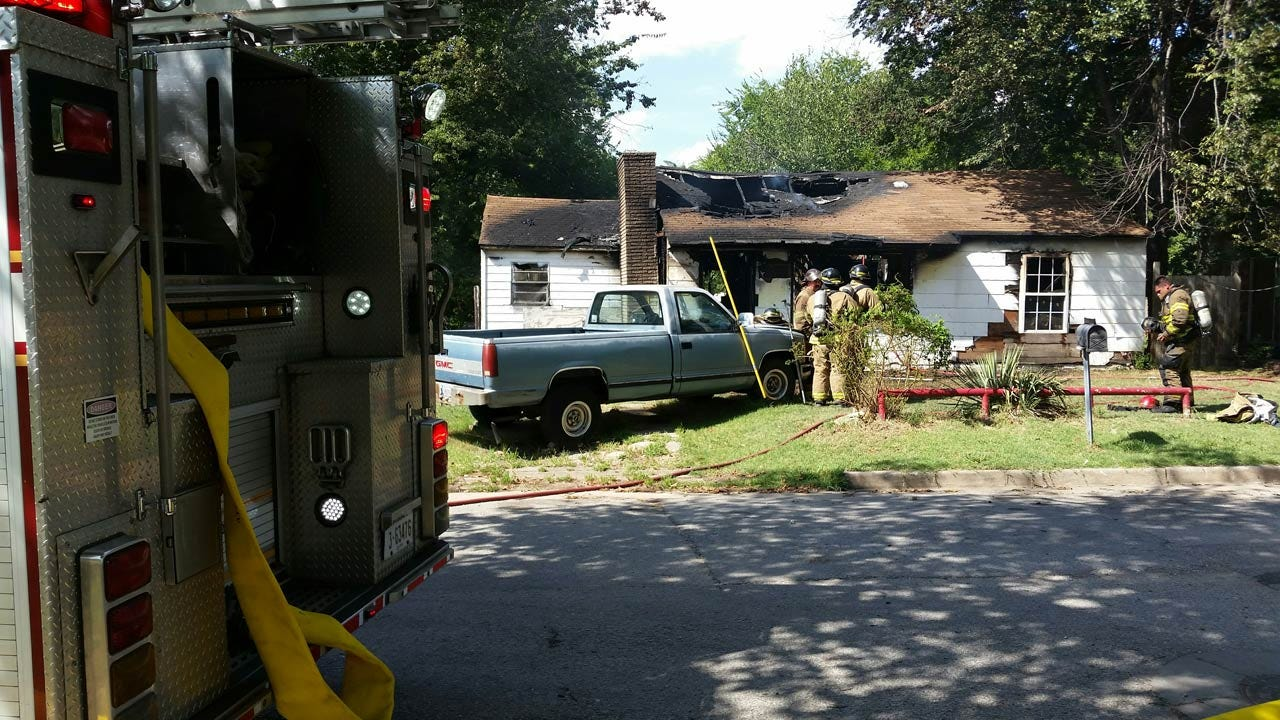 TFD: House Fire Started By Burning Trash In Fireplace