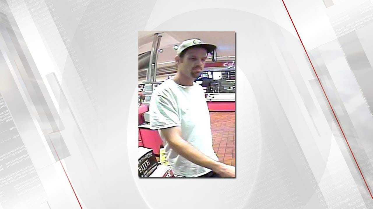 Owasso Police Searching For Pickup Theft Suspect