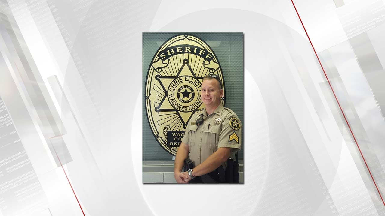 Wagoner County Sergeant Recognized For Quick Thinking That Saved Life