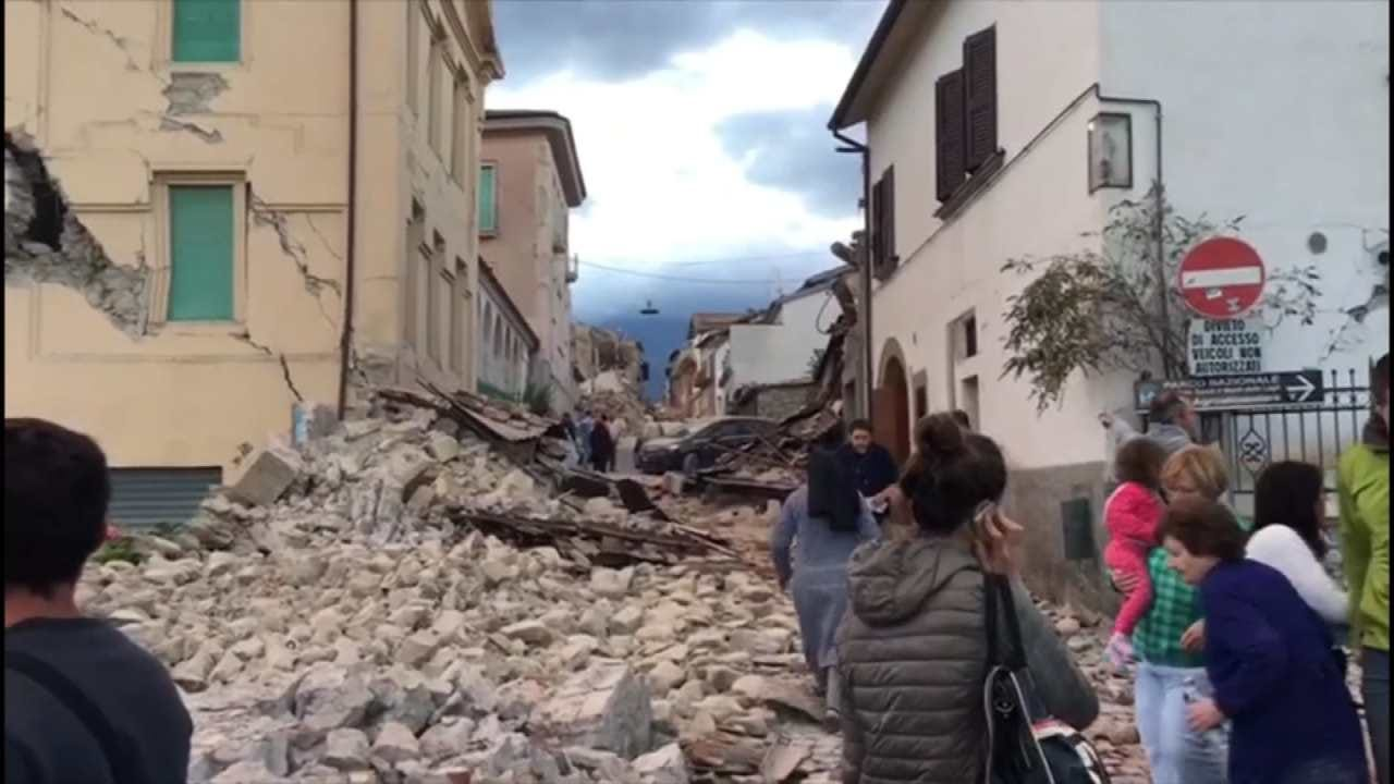 Deadly Earthquake Rattles Central Italy