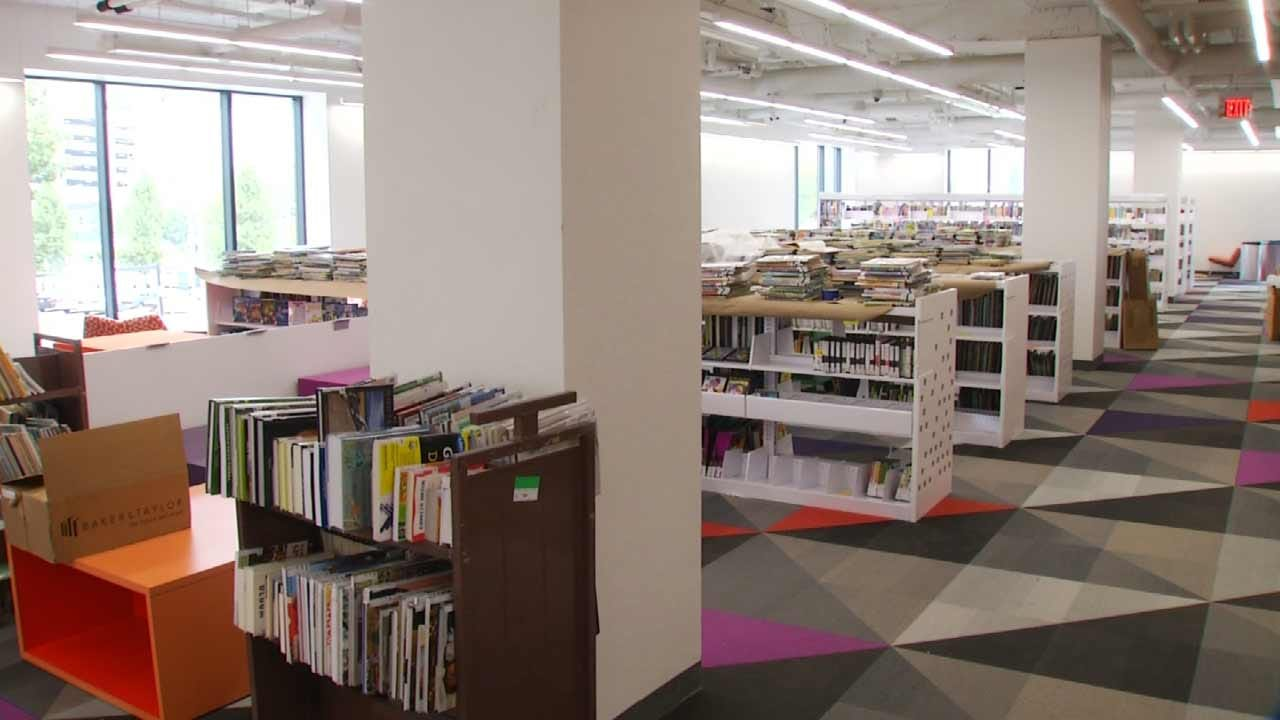 Tulsa City-County Library Making Progress On New Building