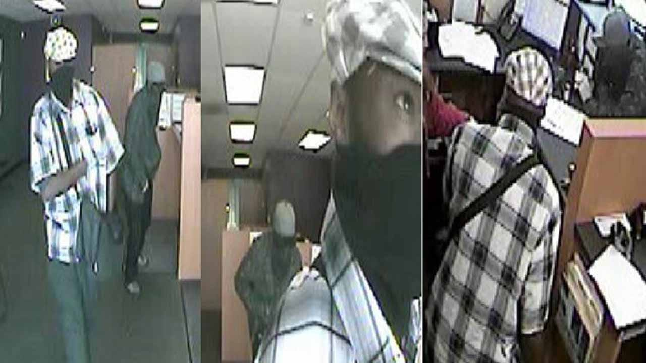 Tulsa Police Release Video From Check Cashing Store Robbery