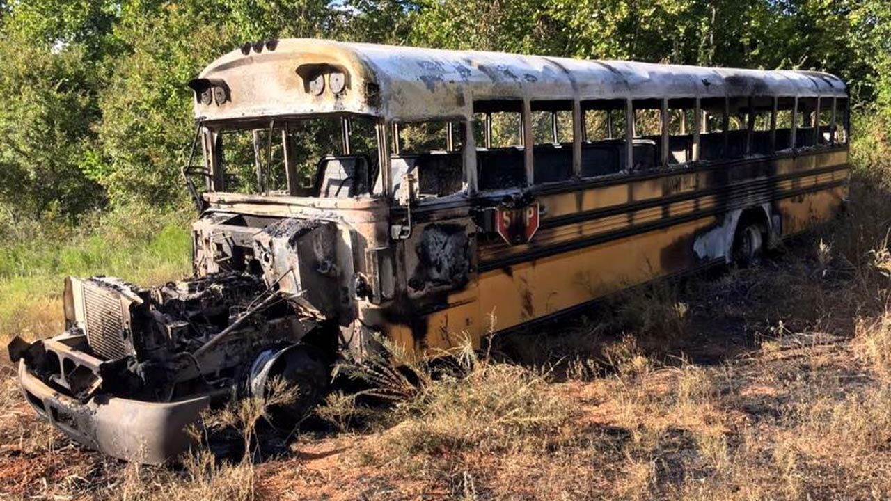 Buses Stolen From Twin Hills School District Found Burned