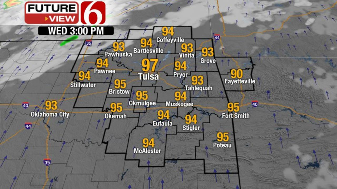 Heat Returns To Eastern Oklahoma