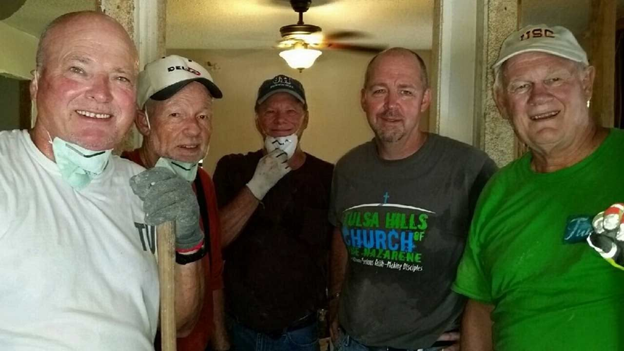 Volunteers From Tulsa Church Help Louisiana Flood Victims