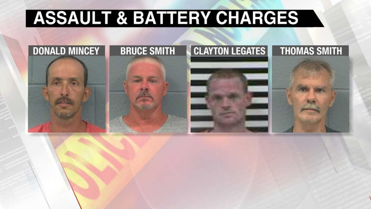 Four Men Arrested In Connection To Oologah Lake Assault