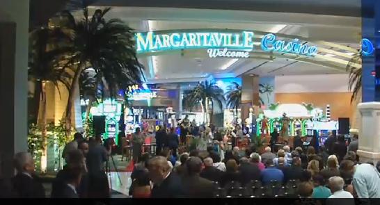 Grand Opening Held For Margaritaville Restaurant And Casino