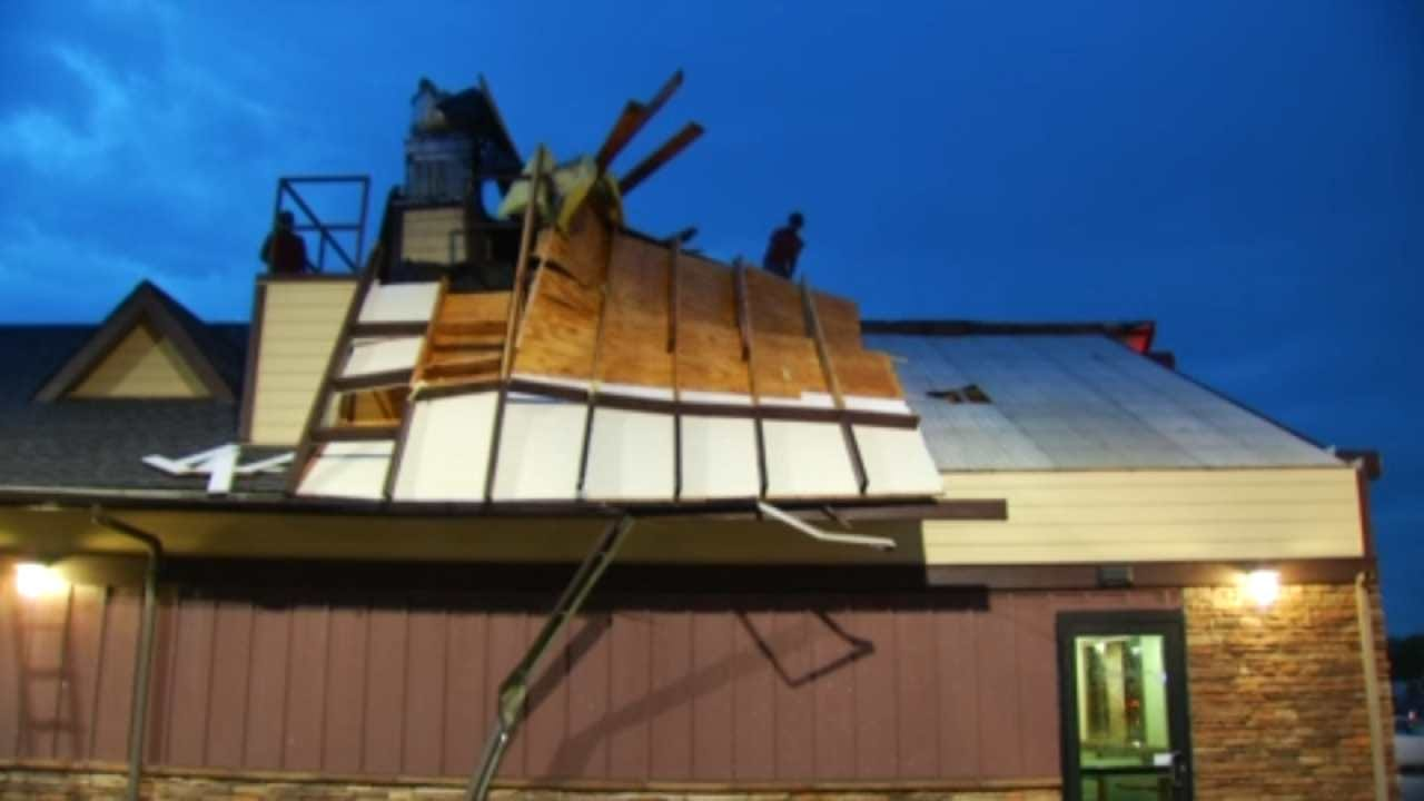 Storm Causes Isolated Damage At Claremore's Hillcrest Hospital
