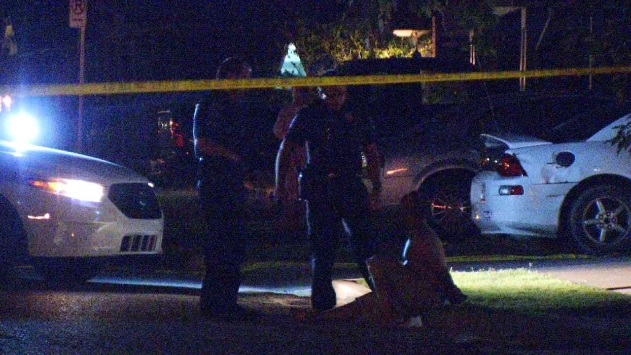 Tulsa Police: Man Yells Racial Slurs At Neighbor, Cuts Him With Knife