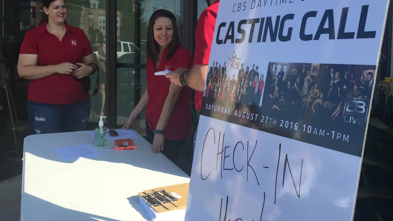 Casting Call Underway In Jenks For A Part On Two CBS Daytime Dramas