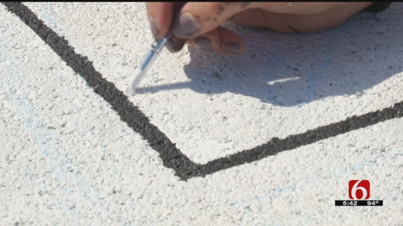 Broken Arrow HS Seniors Leave Their Mark On The Concrete