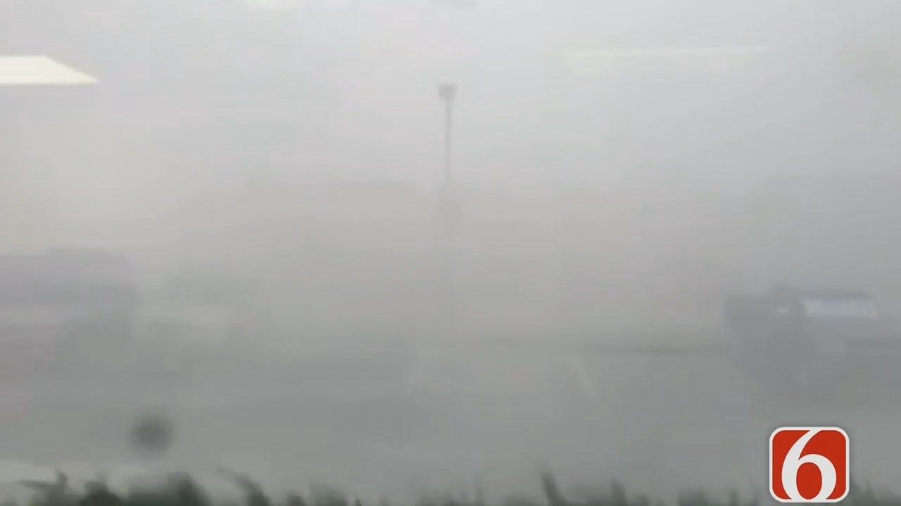 Microburst Blasts Broken Arrow With Rain, Wind