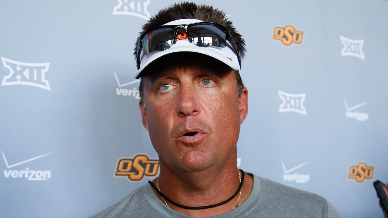 OSU Football: Gundy, Teammates Impressed With Former Jenks WR Dillon Stoner