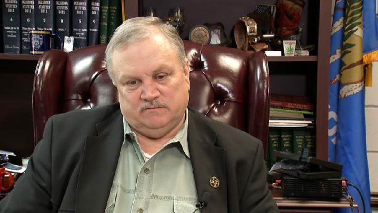 Suspended Wagoner County Sheriff, Deputy In Court For Hearing
