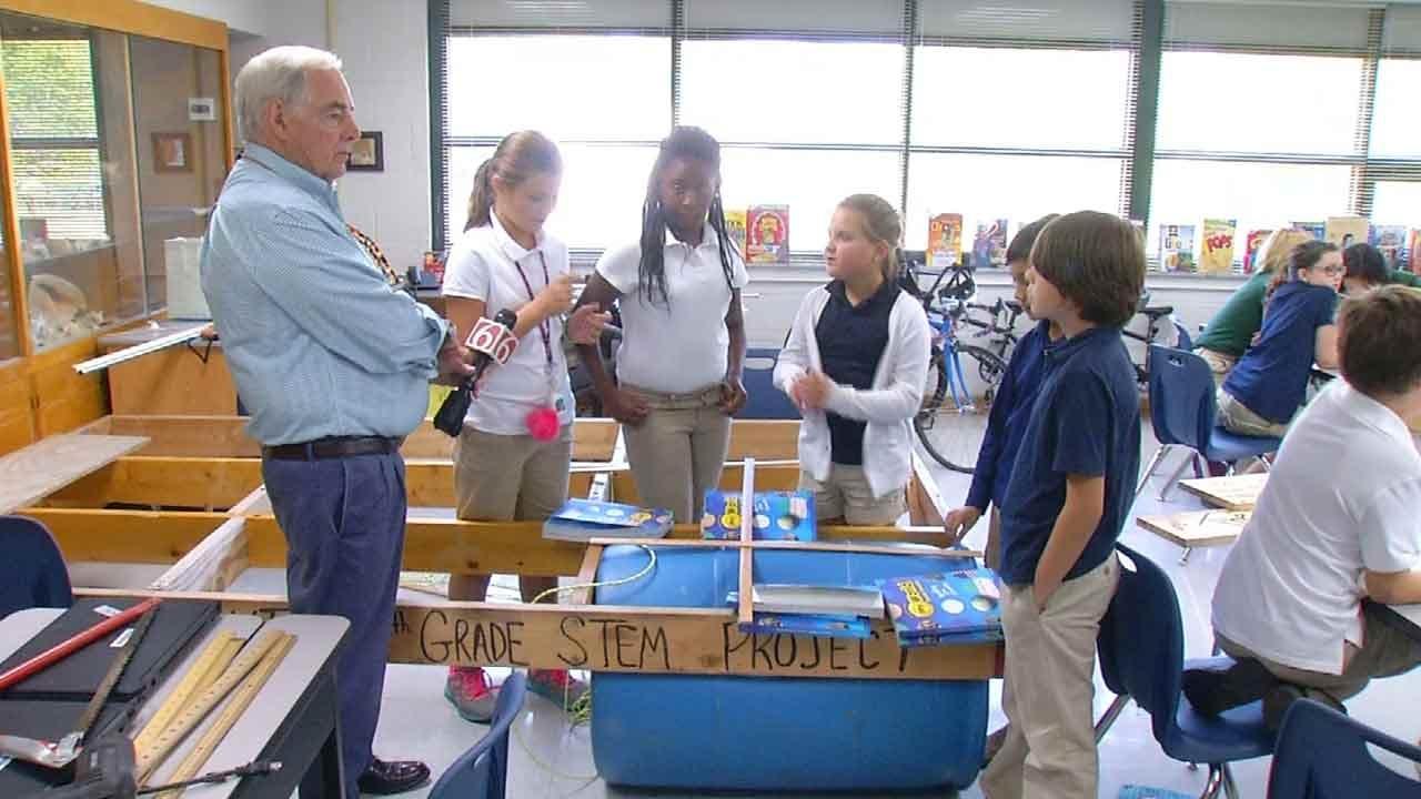 Teachers Letting Tulsa Students Design Raft