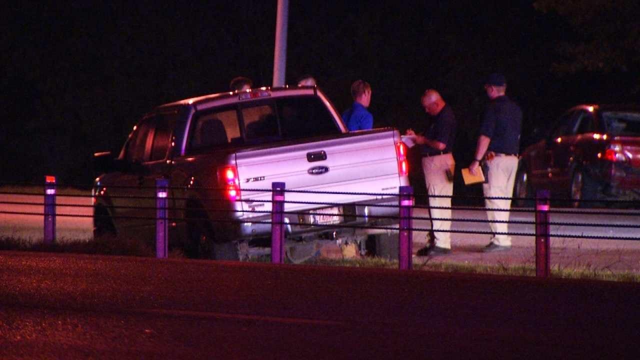 Woman Running On Tulsa Highway Dies After Being Struck