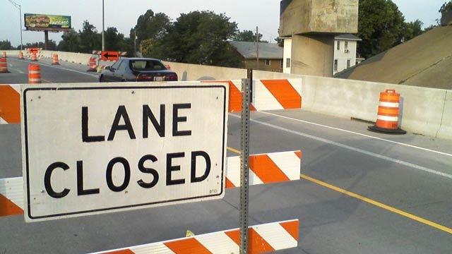 Lane Closures To Impact Traffic Flow On Tulsa's Inner Dispersal Loop
