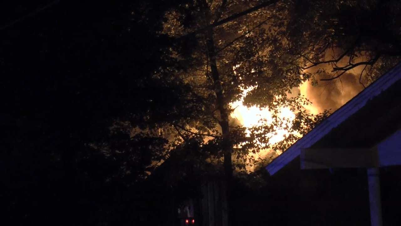 Man, Woman Questioned About Turley House Fire