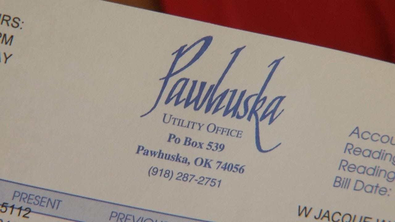 Pawhuska Residents Concerned With Huge Jump In Utility Bill