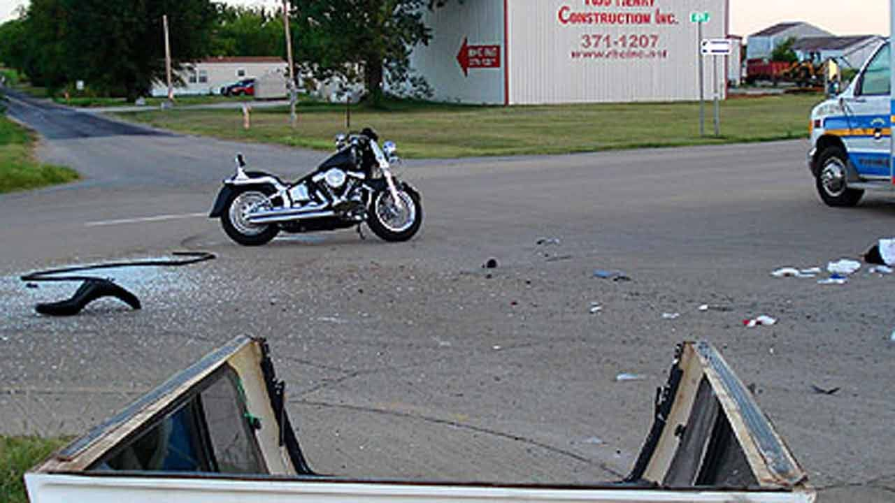 Tulsa Police Officer Seriously Hurt In Motorcycle Crash