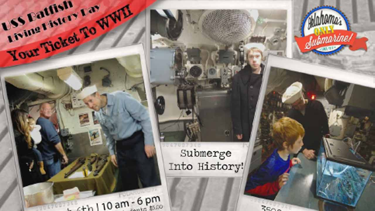 Unique Tours Offered On Muskogee's USS Batfish This Weekend