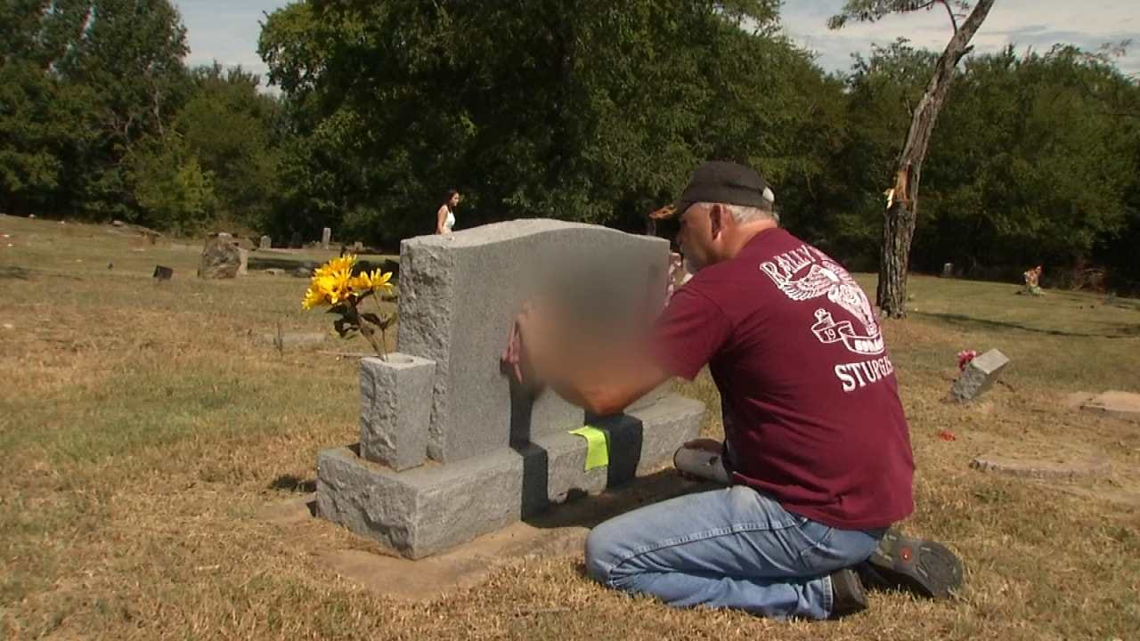Community Upset After Wagoner County Church, Cemetery Are Vandalized With Racial Slurs