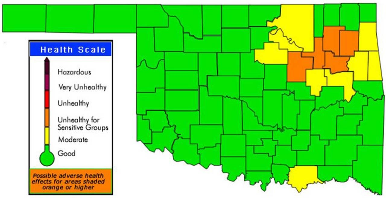 Ozone Alert Issued For Parts Of NE Oklahoma