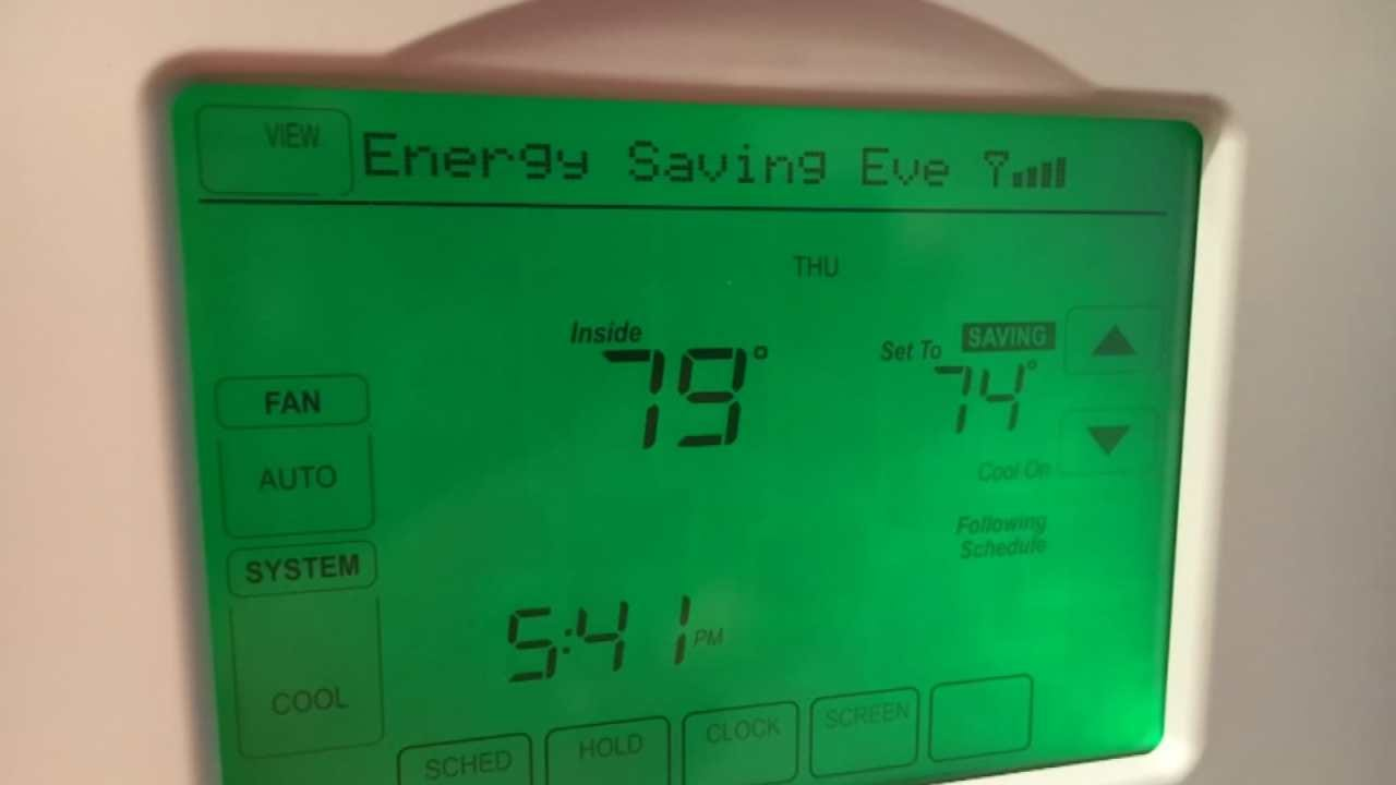 PSO Thermostat Adjustments Help Lower Peak Demand