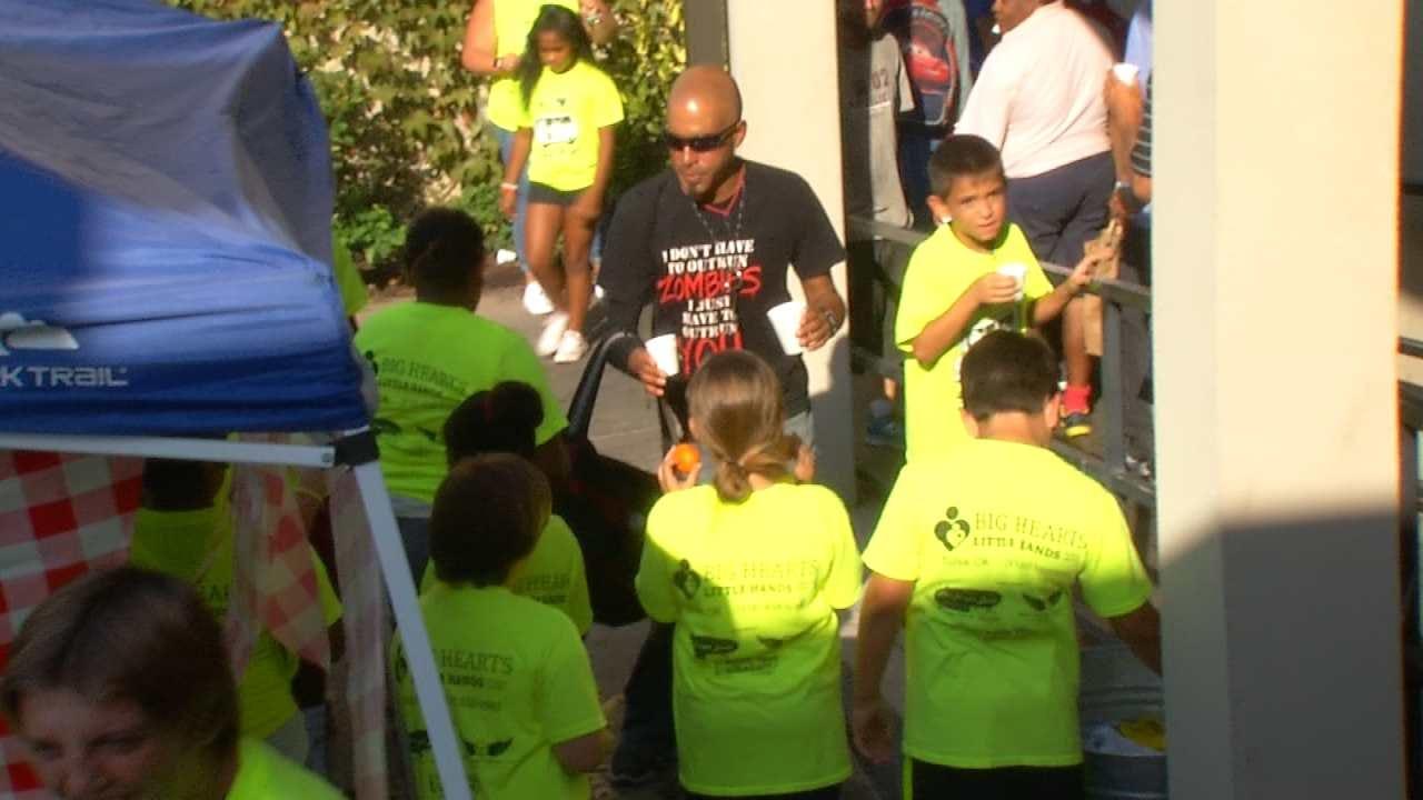 Tulsa Ministry Throws Lemonade Party For Kid Volunteers