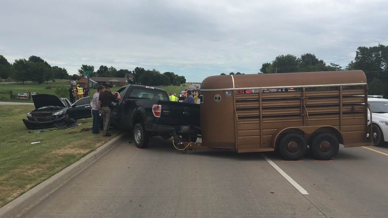 Highway 20 Westbound Lanes At 171st E. Ave Reopened After Injury Collision